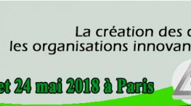 GECSO2018 : a création des connaissances dans les organisations innovantes et leurs réseaux - 22, 23 et 24 mai 2018